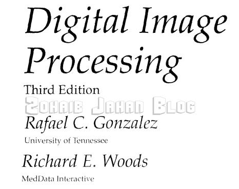 Digital Image Processing PDF by Gonzalez