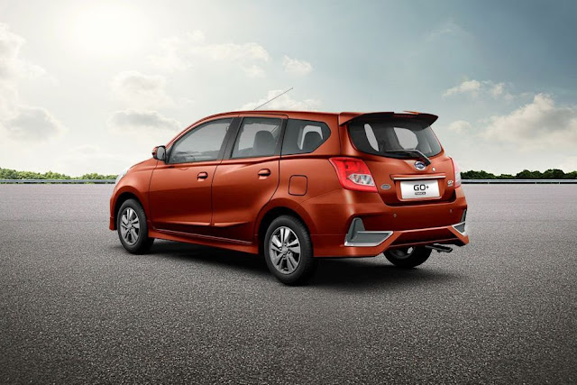 New 2018 Datsun GO Plus Facelift three qauter image