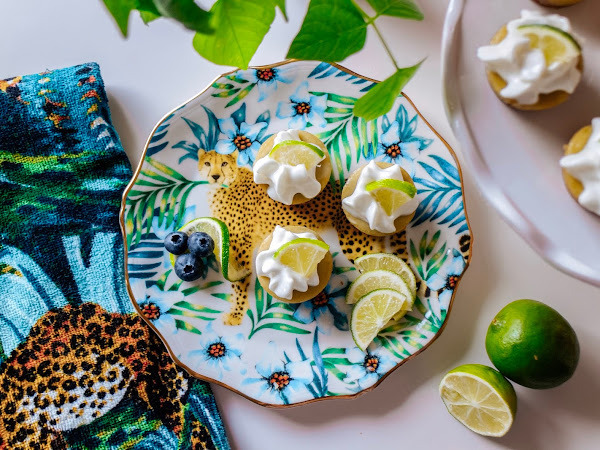 Vegan Key Lime & Avocado Cheesecake Bites