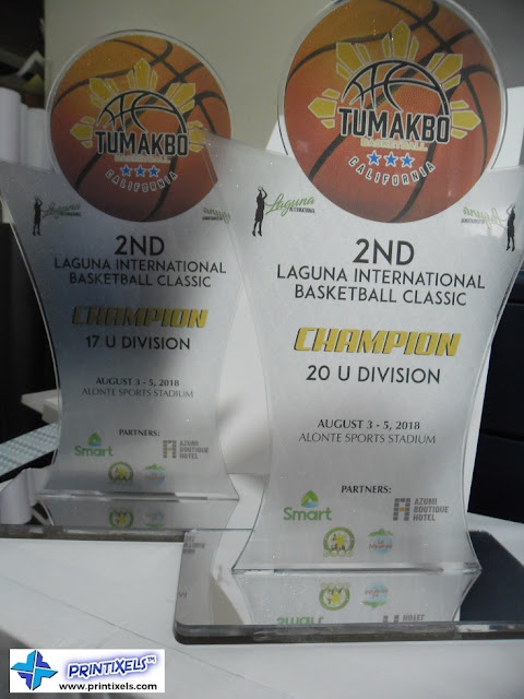 Basketball Acrylic Trophies Philippines