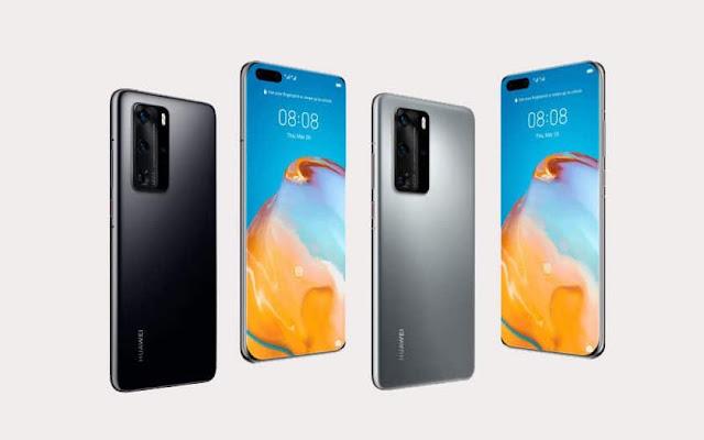 تسريب مواصفات هواتف هواوي الجديدة Huawei P40 و P40 Pro !