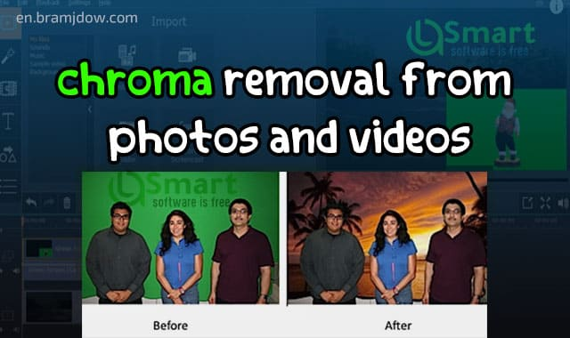 How to remove the green background from videos, photos and all colors
