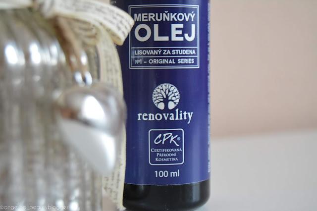 RENOVALITY Meruňkový olej
