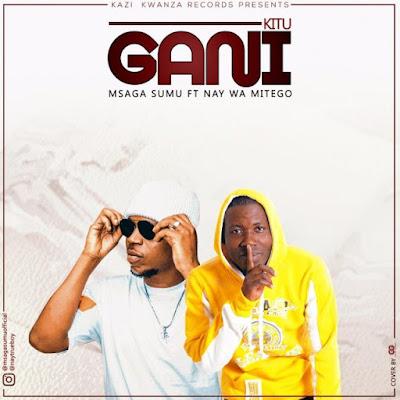 AUDIO | Msaga Sumu Ft. Nay Wa Mitego - Kitu Gani | Download/Listen Mp3