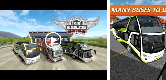Game BUS Simulator Indonesia terbaik Android / Iphone 2020