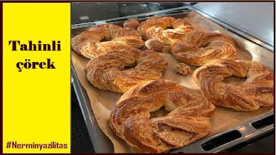 Tahinli çörek - Nermin Yazılıtaş,tahinli çörek,tahinli çörek nasıl yapılır,tahinli çörek tarifi,tahinli çörek yapımı,tahin,tahinli,tahinli poğaça,tahinli cevizli çörek,tahinli çörek yapılışı,tahinli tarifler,tahinli çörek tarifleri,tahinli tarifi,tahinli Çörek tarifi,tahinli kek,çörek,çörek tarifi,tahinli pide,tahinli çörek tarifi pastane usulü,tahinli çörek nefis yemek tarifleri,tahinli tarif,tahinli katmer