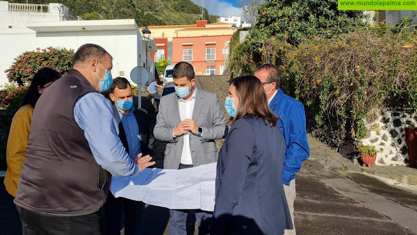 Comienzan las obras de las calzadas de Villa de Mazo por la calle La Molina
