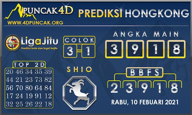 PREDIKSI TOGEL HONGKONG PUNCAK4D 10 FEBUARI 2021