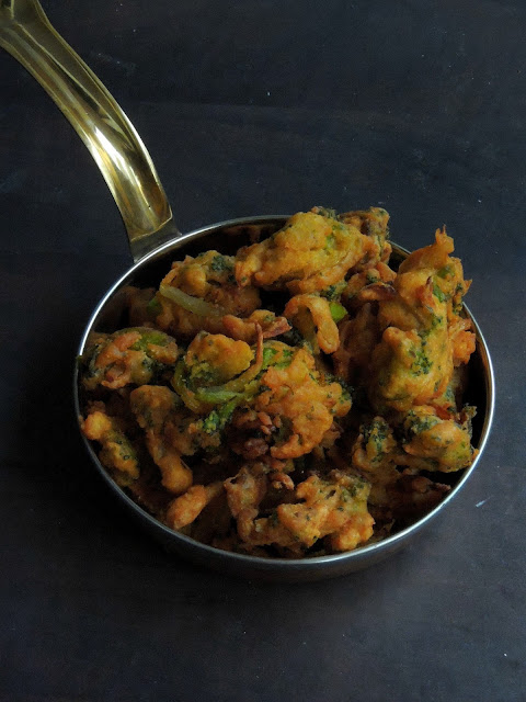 Vegan Broccoli & Onion Pakoras