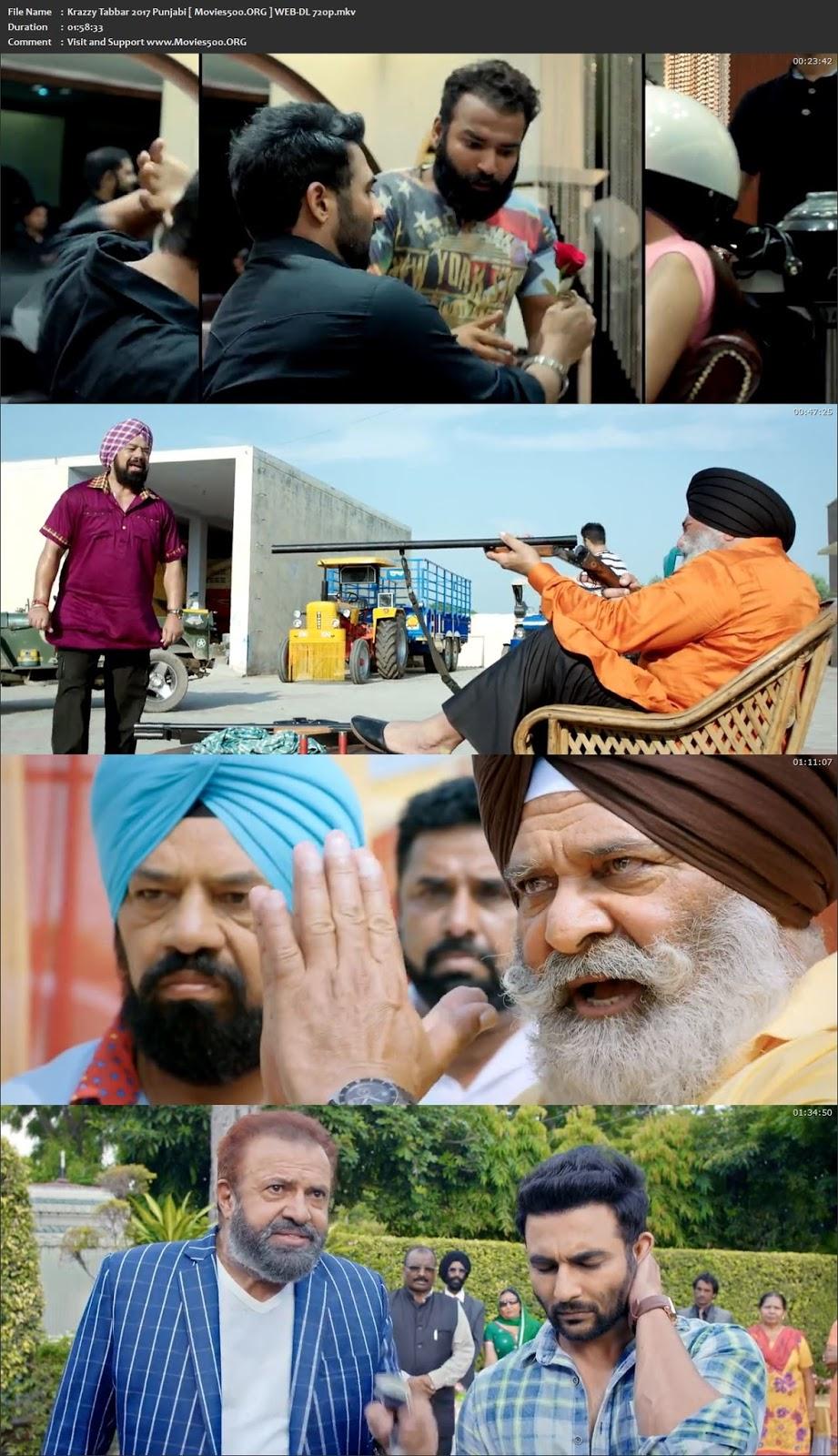 Krazzy Tabbar 2017 Punjabi Full Movie WEB DL 720p