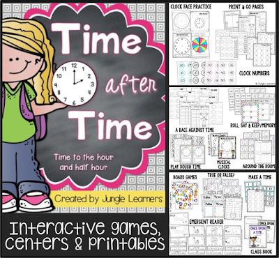 https://www.teacherspayteachers.com/Product/Time-to-the-Hour-and-Half-Hour-Printables-Centers-Games-1725002