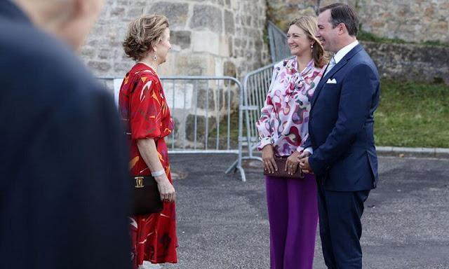 Hereditary Grand Duke Guillaume and Hereditary Grand Duchess Stephanie