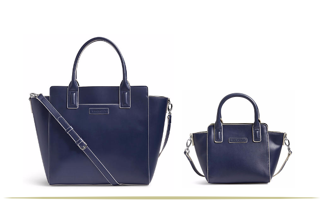 Vera Bradley Mother-Daughter Classic Navy Bags     9 Cool Things