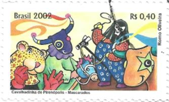 Selo Cavalhadinha de Pirenópolis, Mascarados