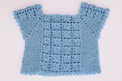 4 - Crochet Imagen Blusa de verano a crochet y ganchillo por Majovel Crochet
