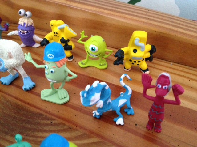 Dan The Pixar Fan Monsters Inc Fright Pack Blind Bag Mini Figures