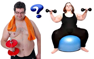 Tipos de entrenamientos para que los obesos puedan quemar grasa