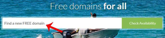 free domain kaise register kare
