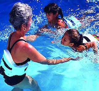 water jogging belt untuk belajar berenang