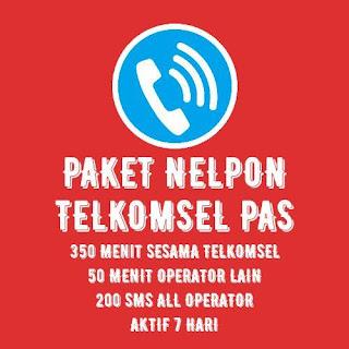 PAKET NELPON TELKOMSEL 350 MENIT 7 HARI