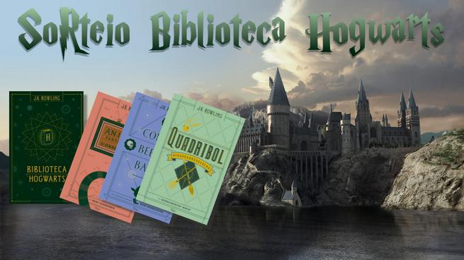 Promoção: Box Biblioteca de Hogwarts