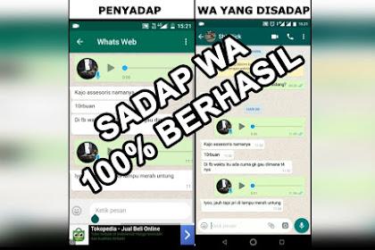 Cara Sadap WA | Sadap WA Pacar | Sadap Chat Whatsapp 100% Berhasil
