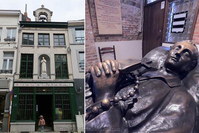 de Gulden Maan Jan Berchmans birthplace Diest