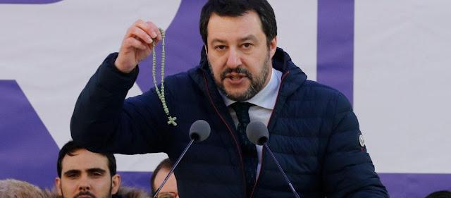 Ο «ακροδεξιός» Σαλβίνι συνεχίζει να στηρίζει την Ελλάδα έναντι της Τουρκίας