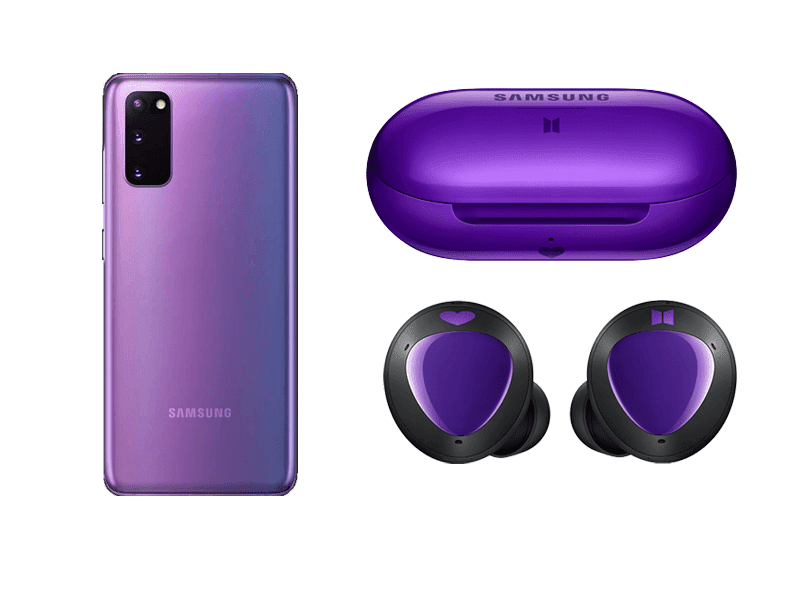Alleged Samsung Galaxy S20+ BTS Edition leaks ahead of launch