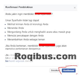 Cara Membuka Blokir Teman di Facebook