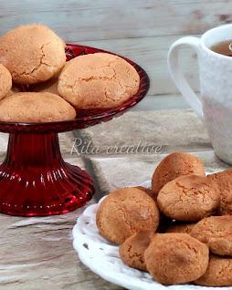 ciasteczka migdałowe amaretto