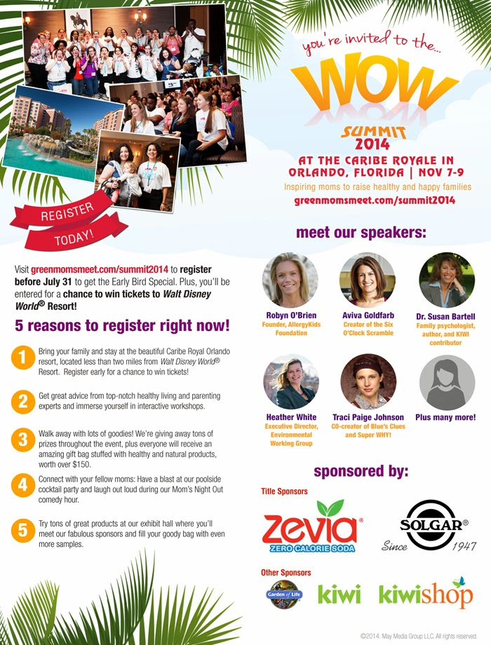 Join Me at the #WOWsummit in Orlando this November 2014! via Productreviewmom.com