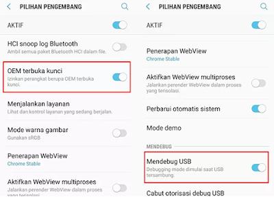 langkah Upgrade model Android Samsung Galaxy J Cara Flash Samsung J3 Pro SM-J330G Nougat ke Oreo, No Fail