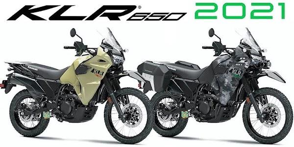 Kawasaki KLR 650 2021 Pembaharuan Model 1987
