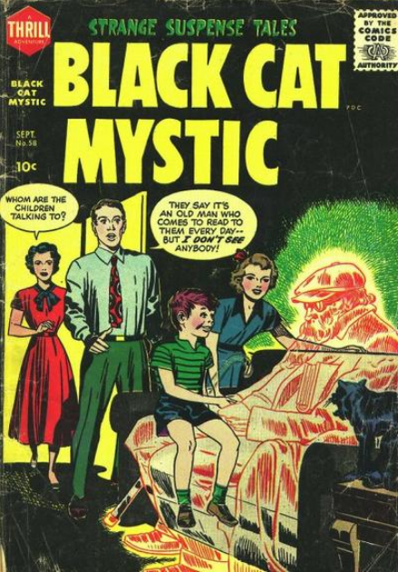 Kirby Black Cat Harvey Comics