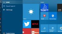Problemi menu Start, icone mancanti o che non si apre (Windows 10)