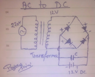 ac to dc convertor at home in hindi