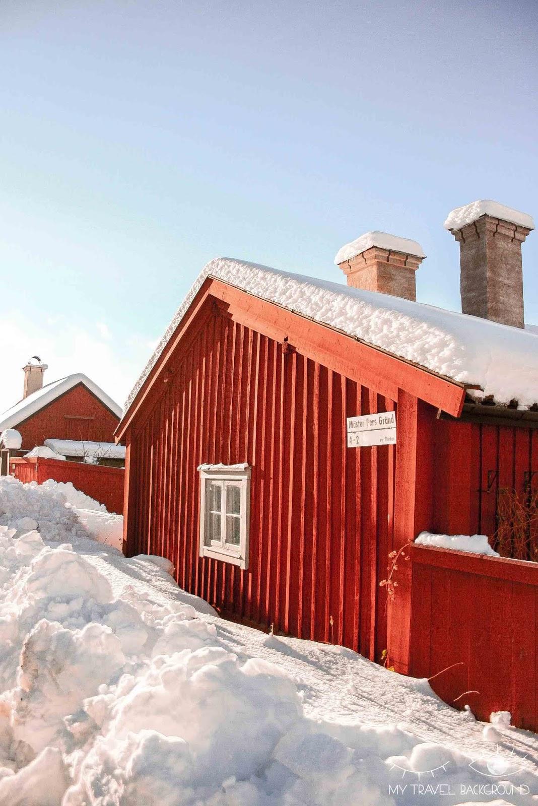 My Travel Background : photographier Stockholm : où trouver les plus belles vues ?  - Maisons rouges traditionnelles