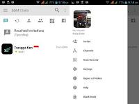 BBM Mod Light V3.2.0.6 Change Background Apk