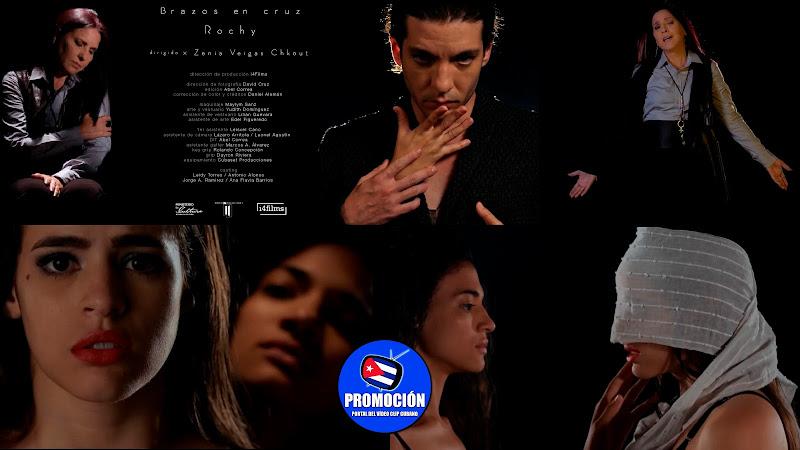 Rochy Ameneiro - ¨Brazos en cruz¨ - Videoclip - Directora: Zenia Veigas Chkout. Portal Del Vídeo Clip Cubano. Música cubana. Canción. Cuba.