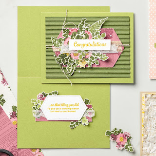Stampin' Up! Pressed Petals Designer Paper Projects ~ 2019-2020 Annual Catalog