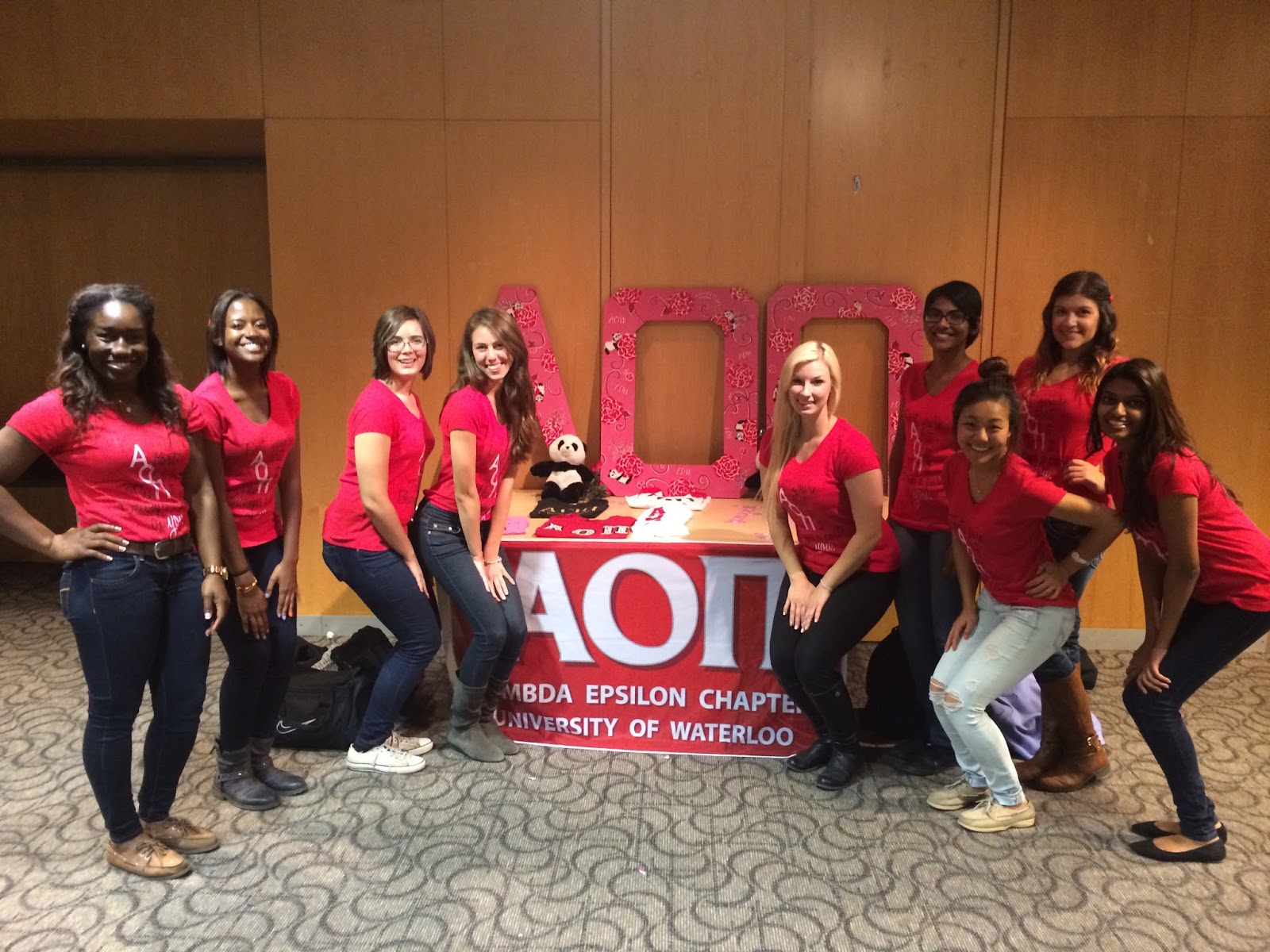 Le Northern Belle | Alpha Omicron Pi Recruitment at the University of Waterloo