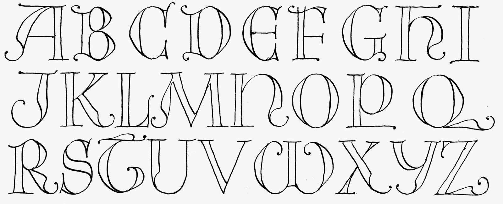 Margaret Shepherd: Calligraphy Blog: 264 Complex Medieval