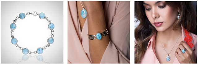 larimar, larimar jewellery, larimar pendant, larimar necklace, larimar shop review, larimar blog review, larimar earrings, larimar stone bracelet, larimar jewellery