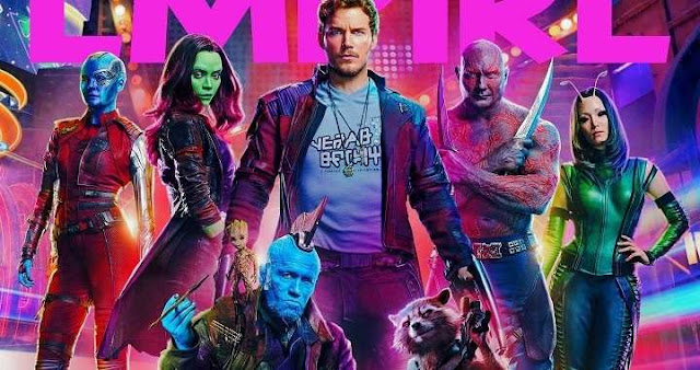 Guardians of the Galaxy Vol 2 en la revista Empire