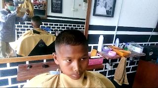 pangkas rambut cepak untuk anak-anak