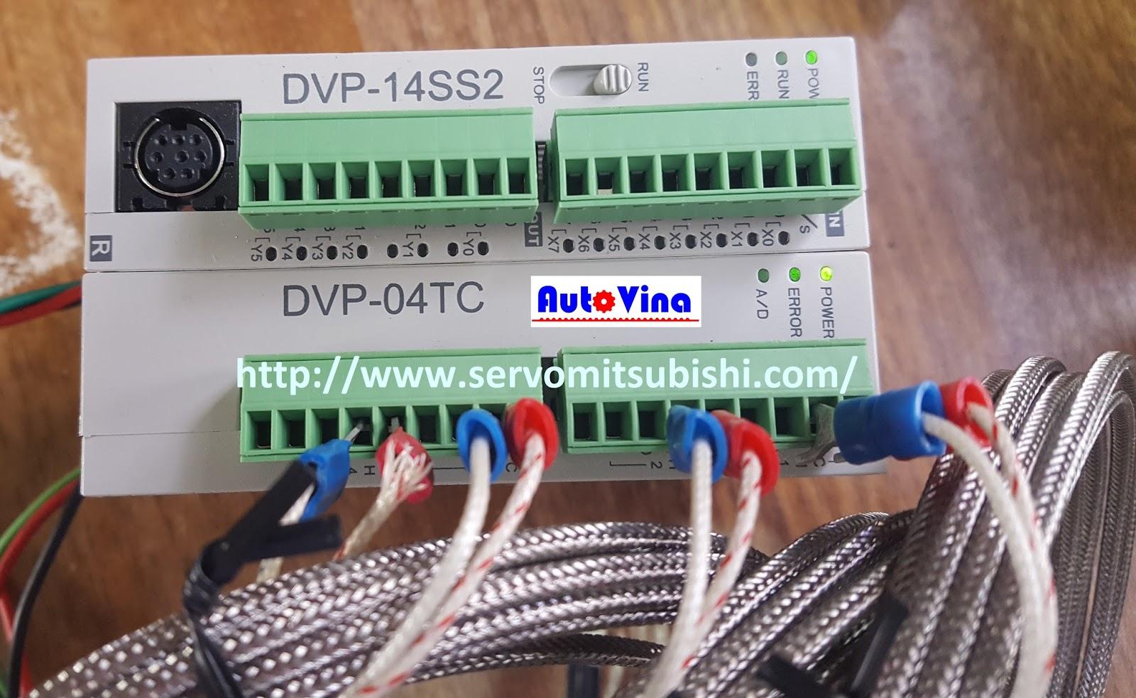 Đại lý bán Module can nhiệt 4 input cho PLC Delta DVP04TC-S