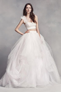 K'Mich Weddings - wedding planning - wedding dress idea - two piece white dress