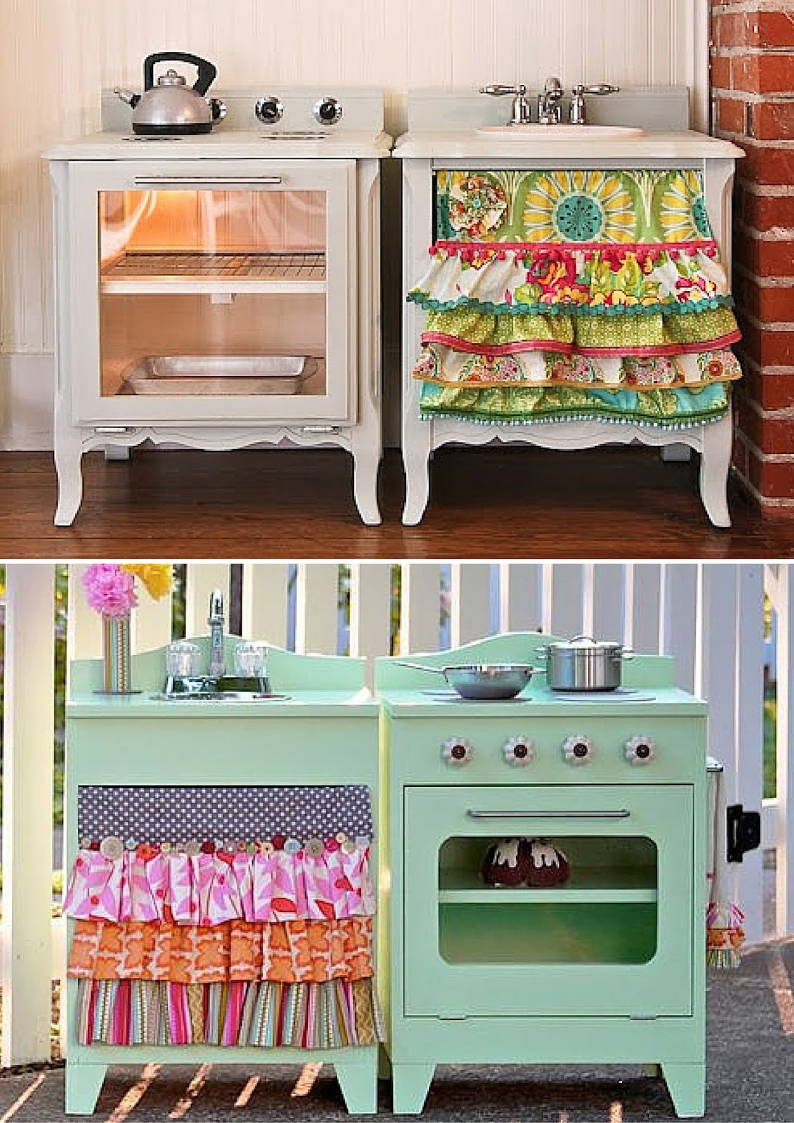 kids kitchen play DIY