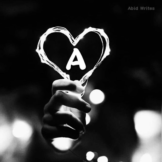 A to Z Stylish Alphabets Images with heart in hand download dp pics